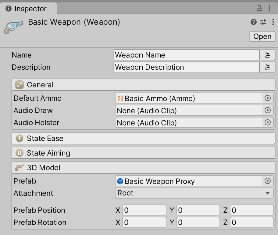 Weapon Inspector
